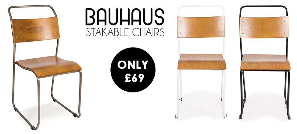 A New Range Of French Bauhaus Style Bistro Chairs... | Cult Furniture  BlogCult Furniture Blog