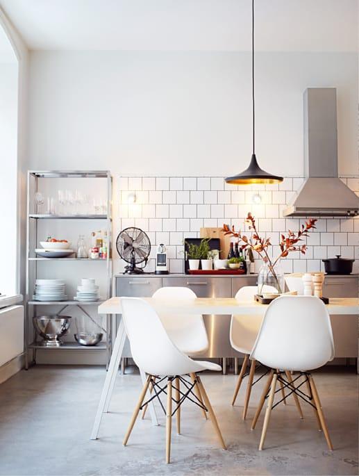 A Romantic Industrial Kitchen - Cult Furniture Blog