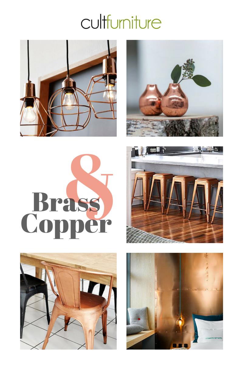 Trend Report 2015 Brass Amp Copper Cult Furniturecult