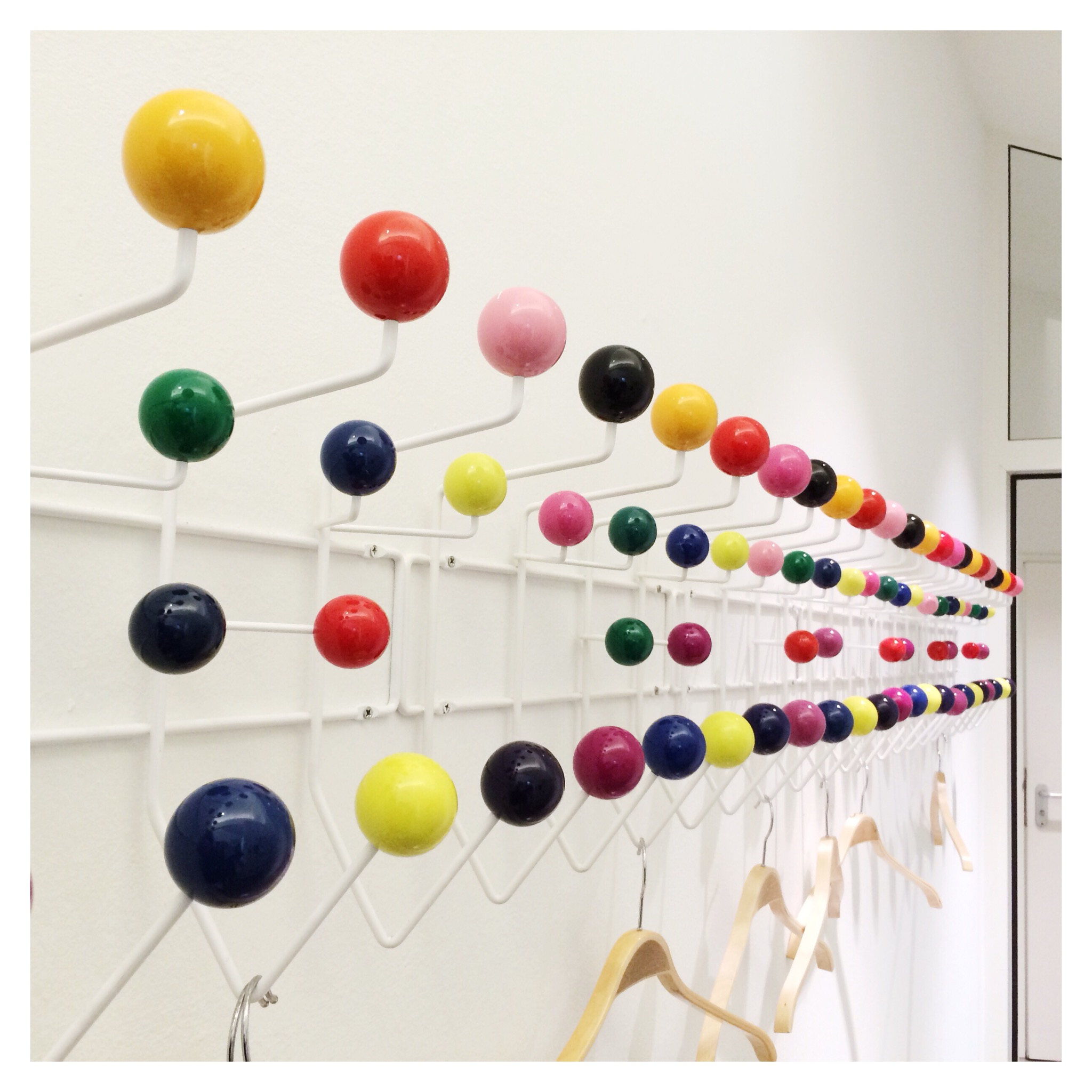 Eames Hang It All Miluccia Via Cultfurniture