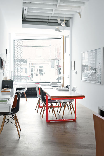 Street smarts office dining room 1