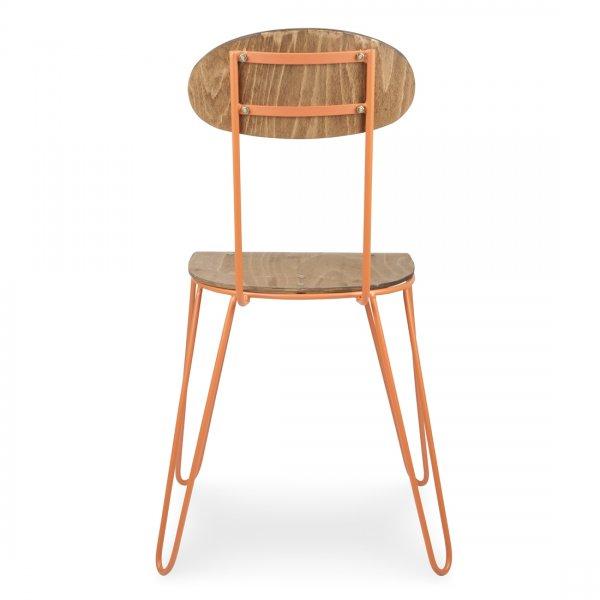 Hairpin Dining Chair Orange Cult Uk