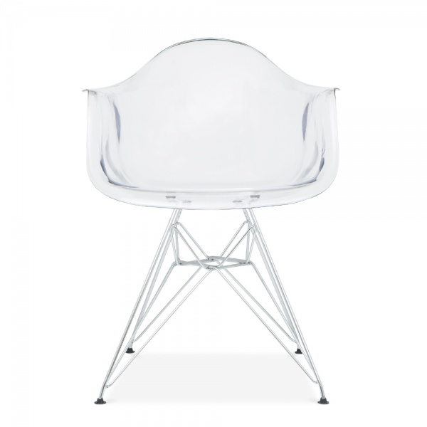 transparent eames style dar chair side chairs cult furniture uk. Black Bedroom Furniture Sets. Home Design Ideas
