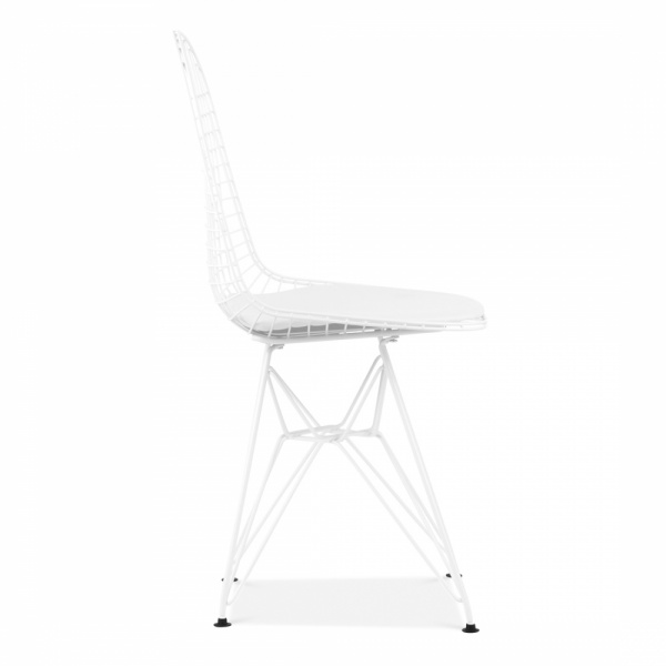 Eames Style White Dkr Wire Chair Cafe Amp Dining Chairs