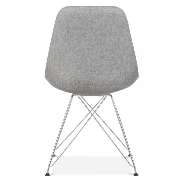 eames inspired cool grey upholstered dining chair cult furniture uk. Black Bedroom Furniture Sets. Home Design Ideas