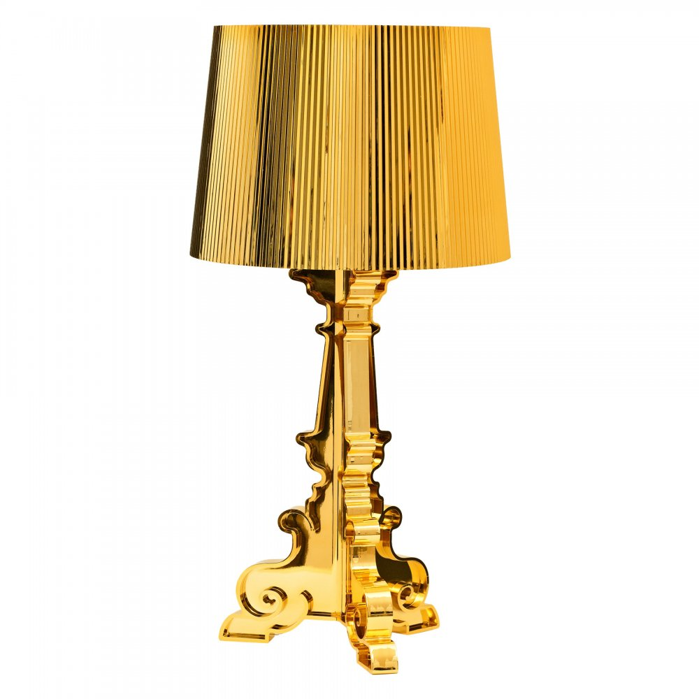 Gold Bourgie Style Lamp