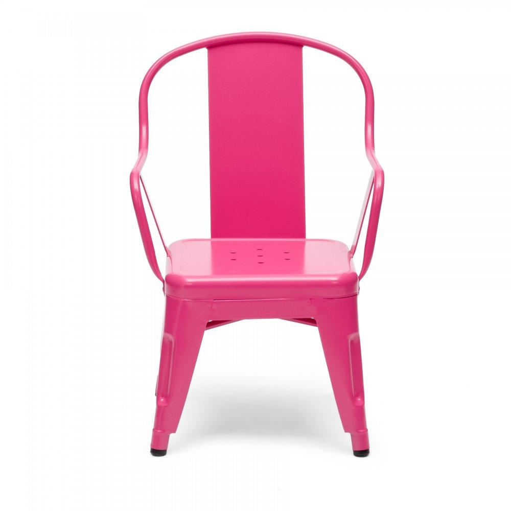 Pink kids xavier pauchard chair for Kids pink armchair