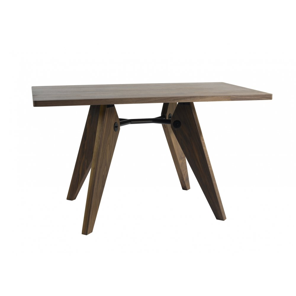 Style brown gueridon dining table cult uk - Table basse jean prouve ...