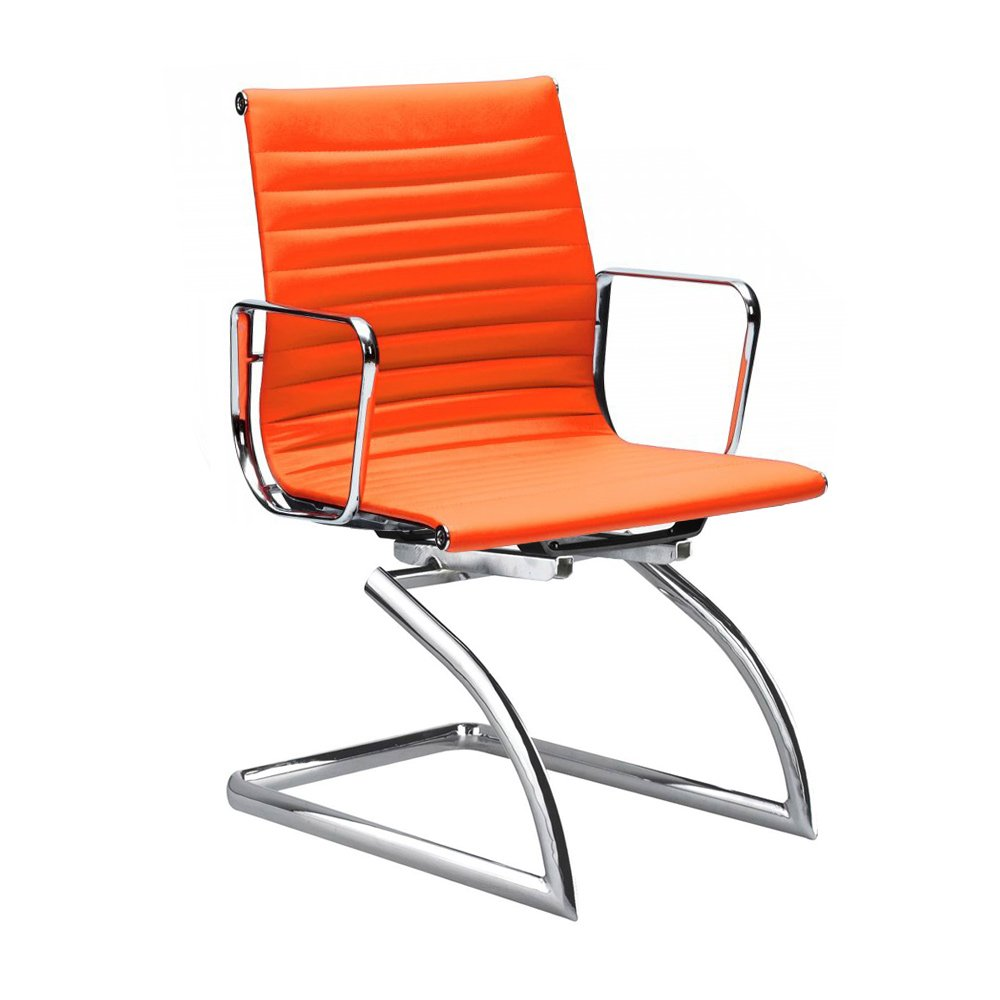 Cantilever Style Orange Conference Chair Cult Uk