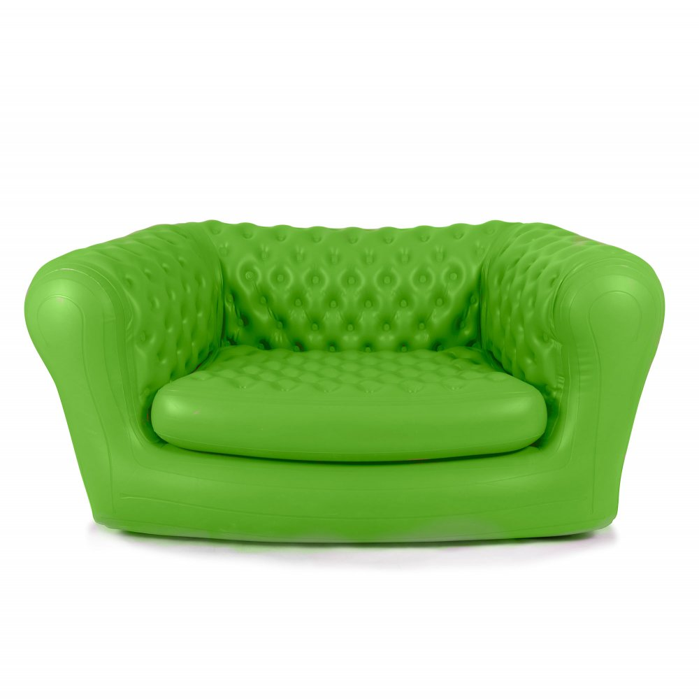 Green Inflatable Chesterfield Air Sofa Modern Sofas