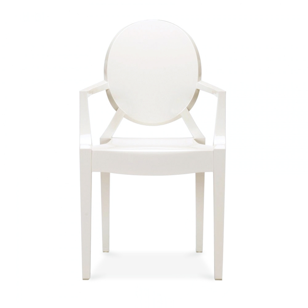style ivory white louis ghost armchair cult uk. Black Bedroom Furniture Sets. Home Design Ideas