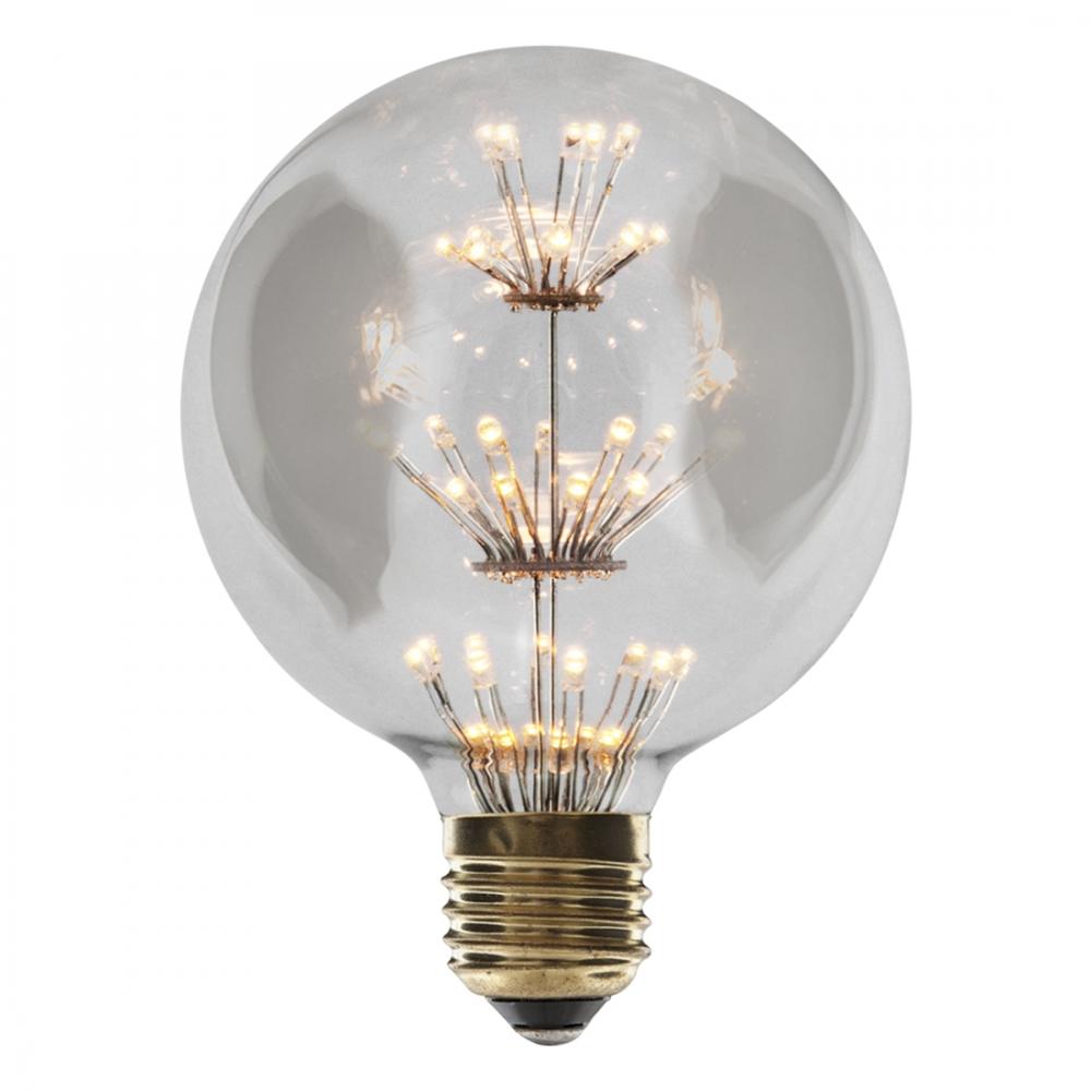 Globe LED Light Bulb Edison Vintage G95 T9 Retro