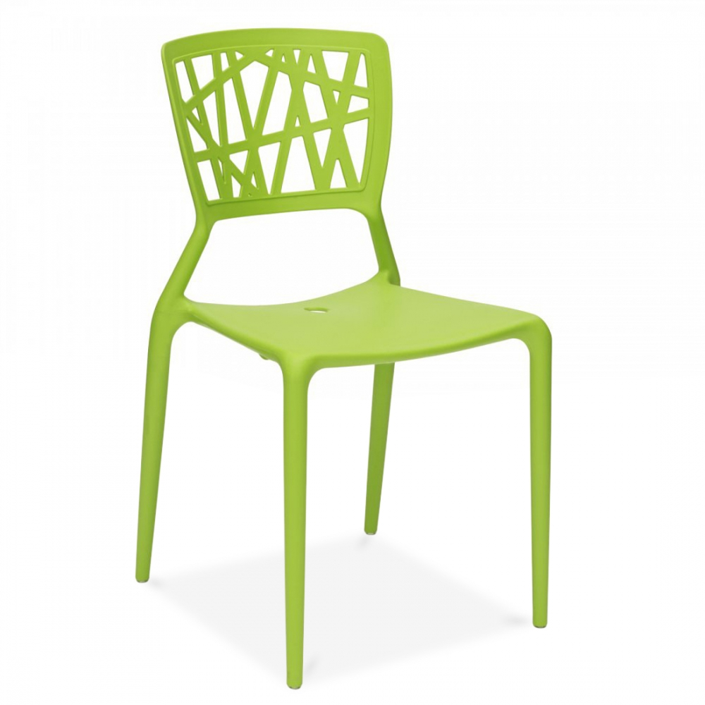 green viento style plastic chair stackable outdoors. Black Bedroom Furniture Sets. Home Design Ideas