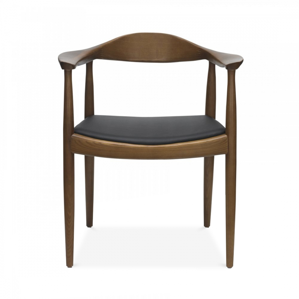 hans j wegner style designed round chair cult uk. Black Bedroom Furniture Sets. Home Design Ideas