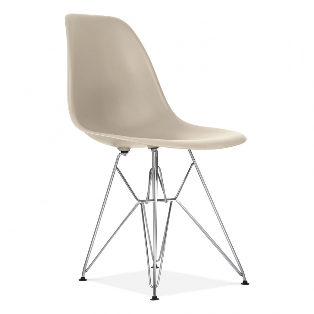 eames style beige dsr eiffel chair eames dining chairs. Black Bedroom Furniture Sets. Home Design Ideas