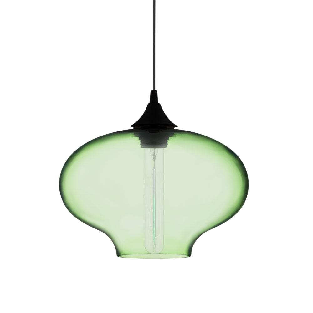 Industrial Pendant Light Green: Edison Stargazer Pendant Light In Soft Green