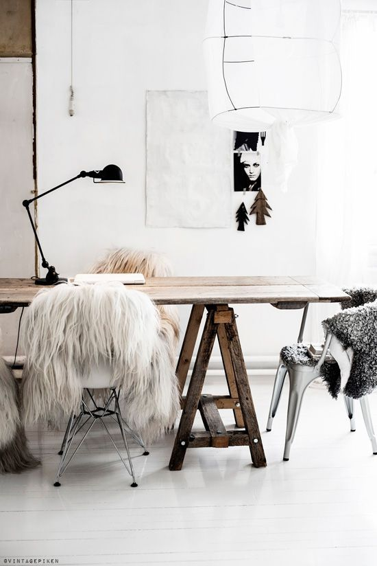 Line Kay sheepskin eames cultfurniture