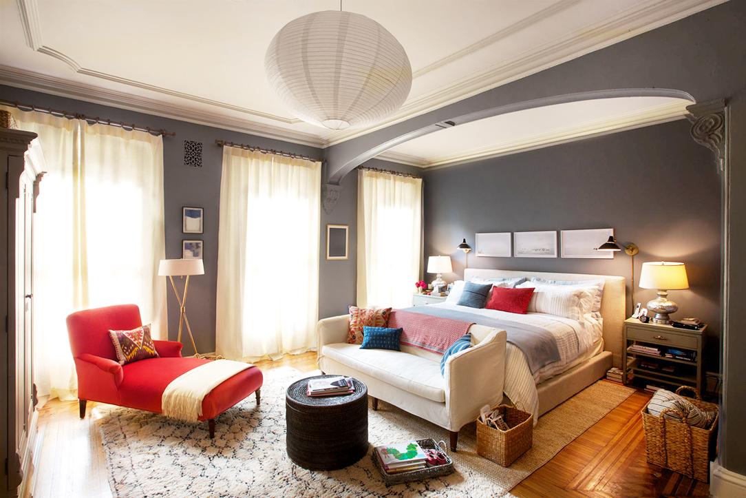 The Intern bedroom