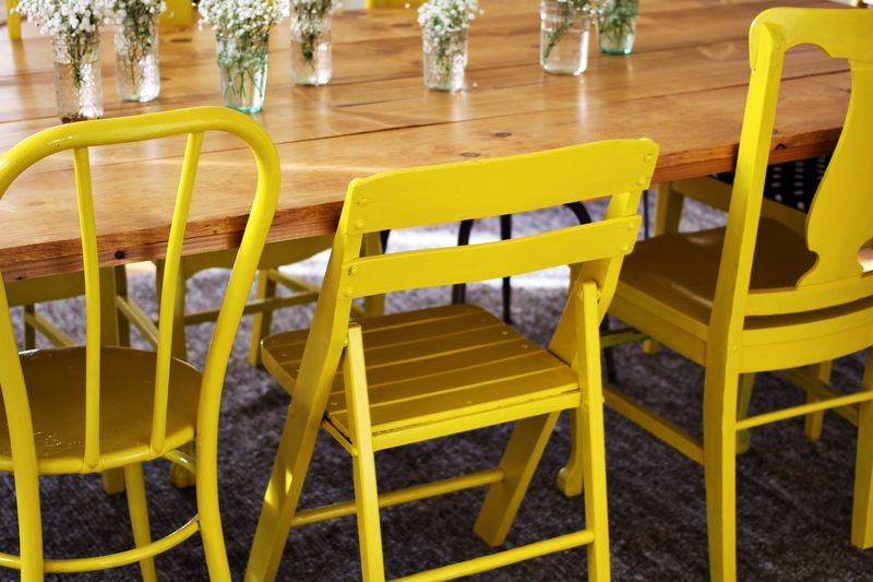 Mix And Match Yellow Chairs Cult Furniture Blogcult
