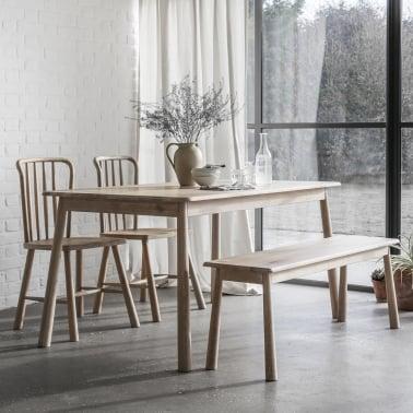 Alpine Contemporary Dining Table Oak
