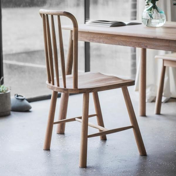 Cult Living Alpine Windsor Dining Chairs Set Of 2, Oak
