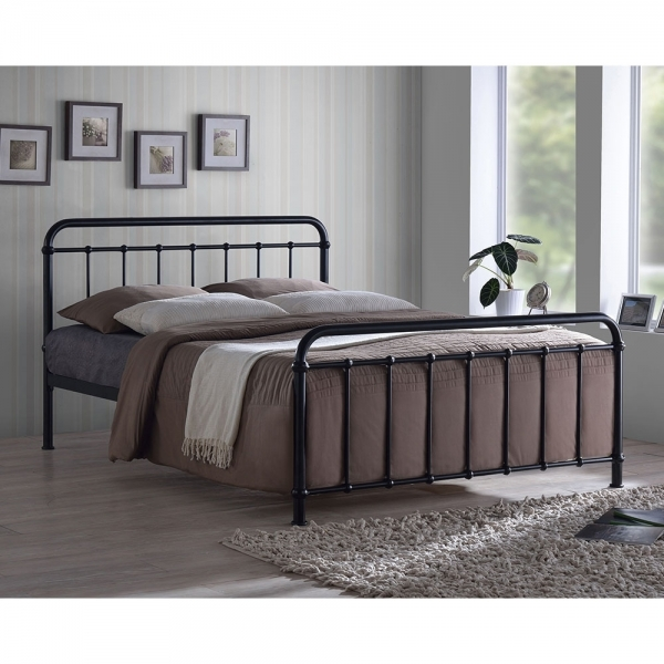 Black Metal Arabella Kingsize Hospital Bed Frame Metal Bed Frames