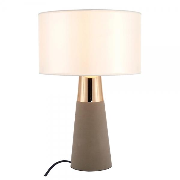 concrete table lamp. Cult Living Ashburn Concrete Table Lamp, Gold Lamp