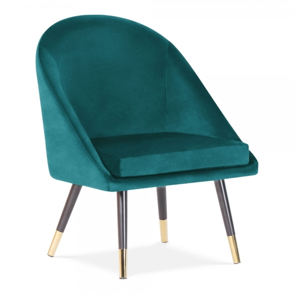 Amazing Audrey Occasional Tub Chair Velvet Upholstered Teal Download Free Architecture Designs Scobabritishbridgeorg