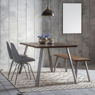 Aylmer Rectangle Dining Table Brown