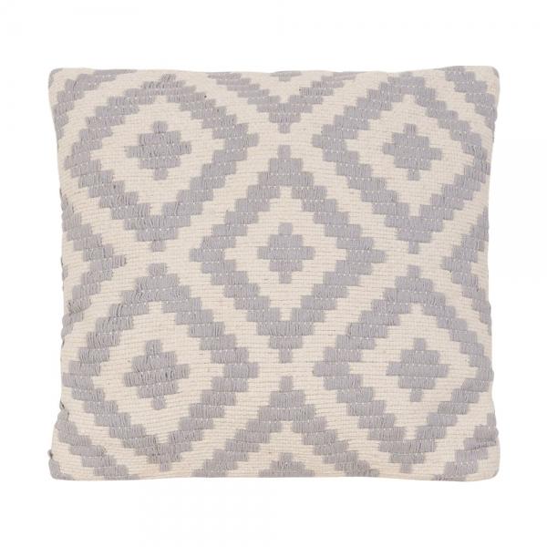 Grey Amp White Woven Aztec Cushion Contemporary Sofa Cushions