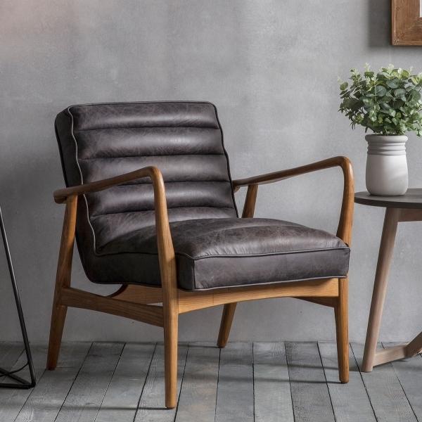 Berkeley Black Leather Upholstered Armchair Modern Home Furniture Awesome Berkeley Modern Furniture