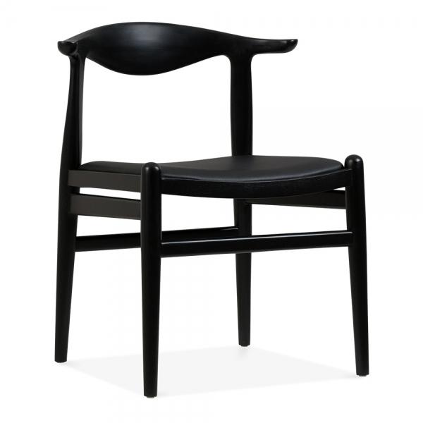 Danish Designs Bruno Dining Chair Black Seat