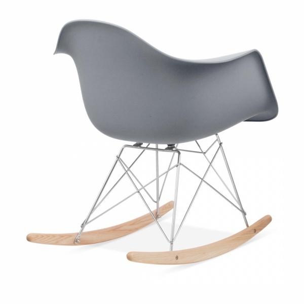 Hochwertig Iconic Designs Cool Grey RAR Style Rocker Chair