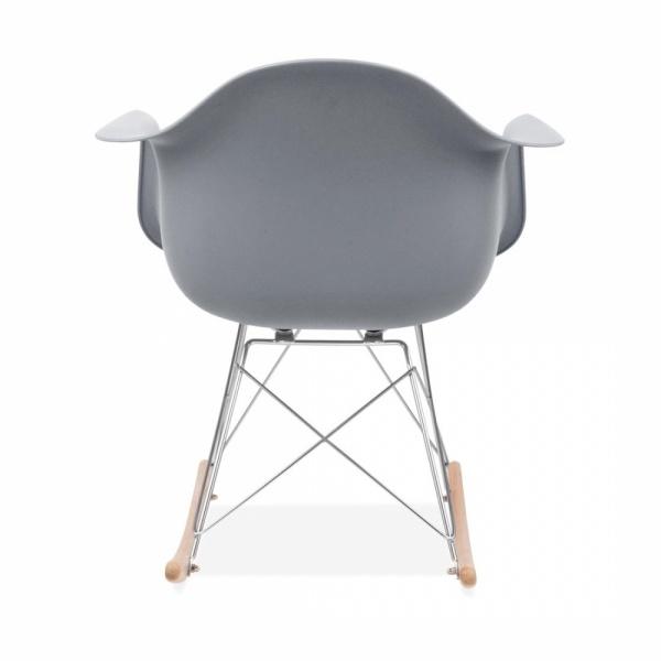 Iconic Designs Cool Grey RAR Style Rocker Chair