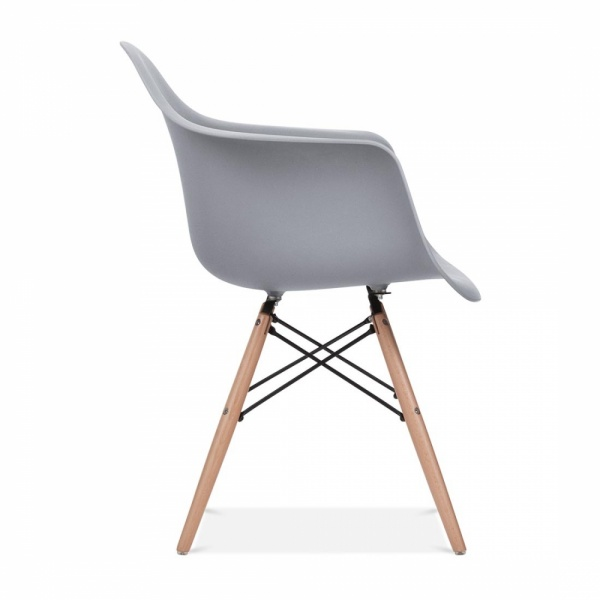Eames Style Grey Daw Chair Side Cafe Bar Chairs Cult Uk