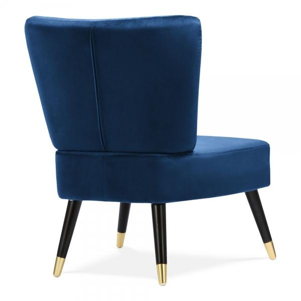 Sensational Abigail Accent Wingback Chair Velvet Upholstered Royal Blue Gamerscity Chair Design For Home Gamerscityorg