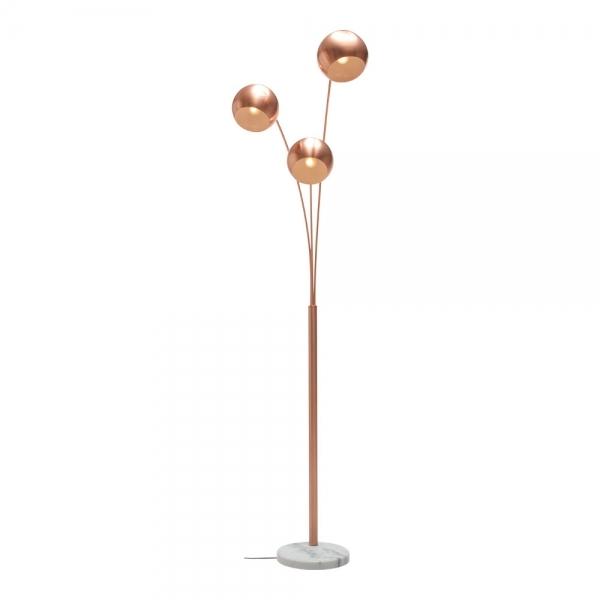Astral Triple Head Marble Floor Lamp
