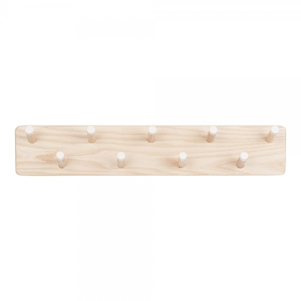 Bocage Mounted Coat Rack White Natural Wood Cult Furniture UK Gorgeous White Wooden Coat Rack
