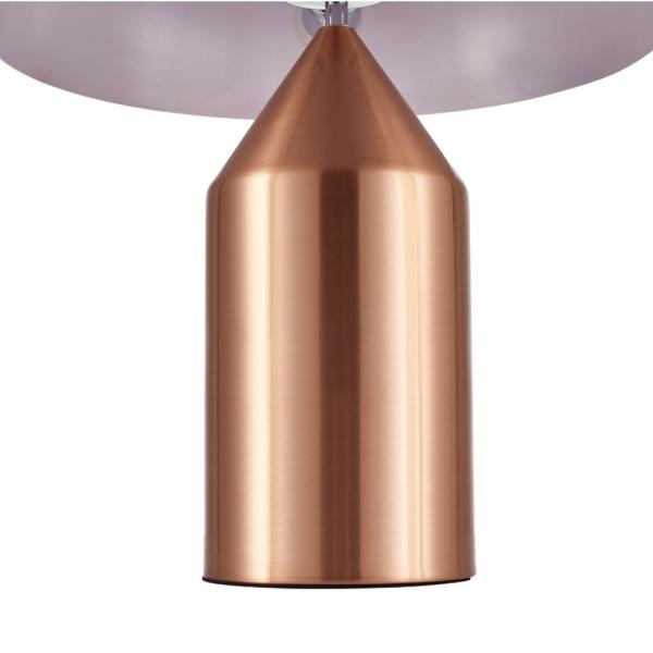 Copper Comet Retro Metal Table Lamp, Comet Retro Metal Table Lamp