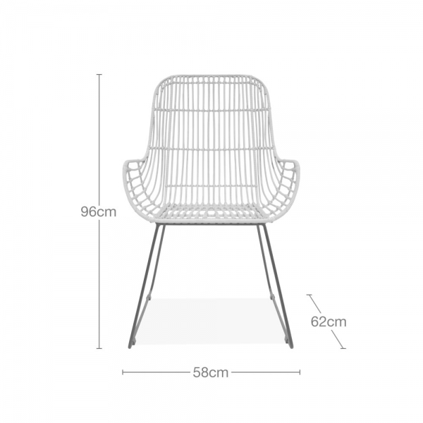 Cool Josef Woven Rattan Dining Chair Natural Ncnpc Chair Design For Home Ncnpcorg