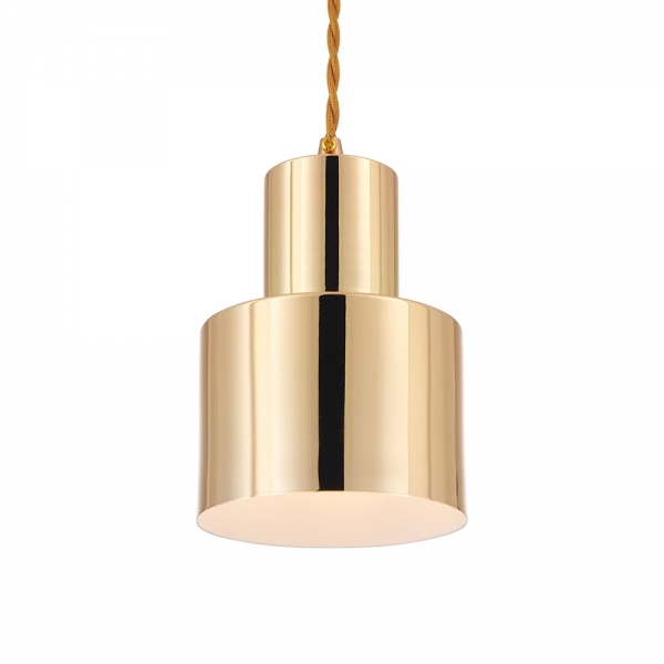 Charmant Cult Living Midas Metal Pendant Light, Gold