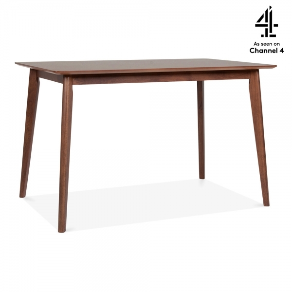 Walnut Milton Wooden Dining Table Walnut 120cm Cult Furniture
