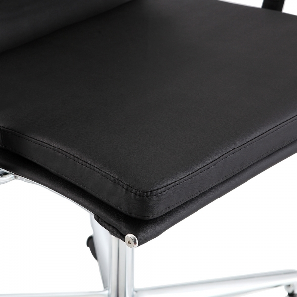 Awe Inspiring Cult Living Soft Pad Office Chair With High Back Black Alphanode Cool Chair Designs And Ideas Alphanodeonline