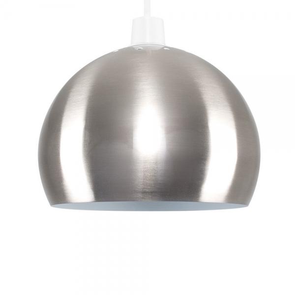 chrome venus easy fit pendant lamp shade modern ceiling lights