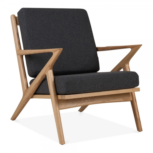 sc 1 st  Cult Furniture & Natural Dane Lounge Chair Upholstered Seat | Modern Armchairs