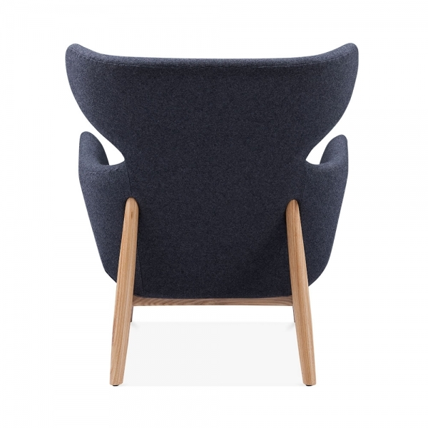 Prime Duchess Winged Armchair Fabric Upholstered Grey Gamerscity Chair Design For Home Gamerscityorg