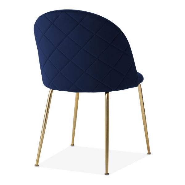 new arrival b30e0 1e05a Heather Dining Chair, Velvet Upholstered, Royal Blue