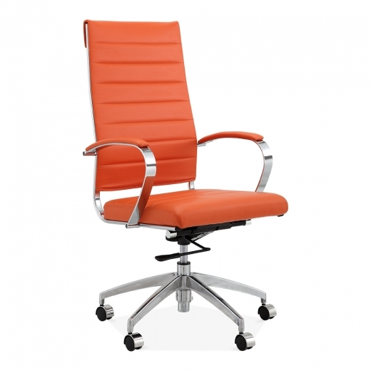 Cult Living Deluxe High Back Office Chair - Orange