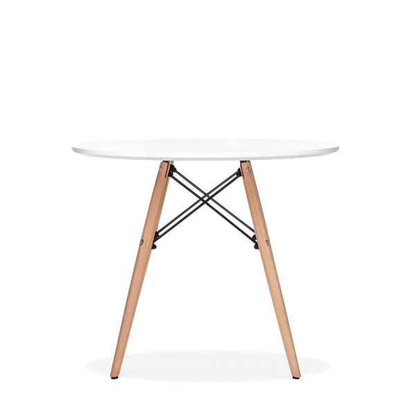 Astonishing Dsw Style Kids Round Dining Table White 60Cm Cjindustries Chair Design For Home Cjindustriesco