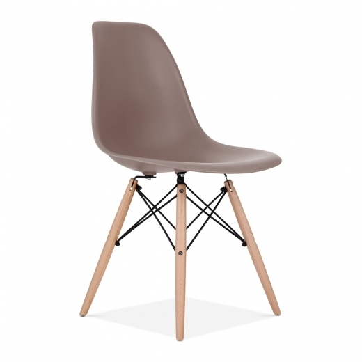 eames style warm grey dsw chair cafe side chairs cult uk. Black Bedroom Furniture Sets. Home Design Ideas
